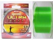 Asso Ultra Cast 300m 0,22mm fluo zelena