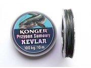 285011080 Konger sumec kevlar f.čierna 80kg/10m