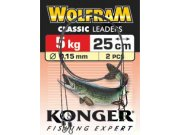 260215015 Konger Clasic wolframove lanko 15cm 5kg